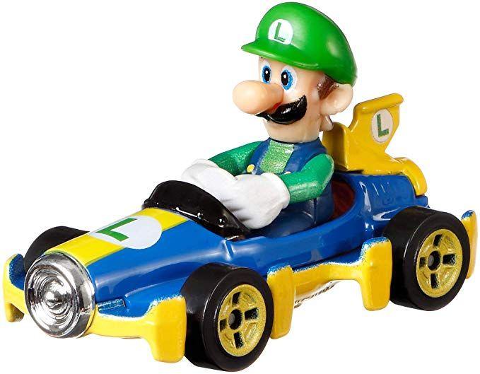 Hot Wheels Mario Kart Replica Luigi 1:64