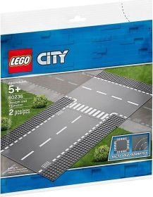 LEGO City - Gerade und T-Kreuzung