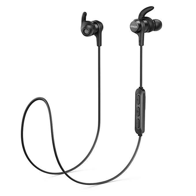 Anker SoundBuds Flow Bluetooth Kopfhörer (Bluetooth 5.0, IPX7, 6mm Treiber)