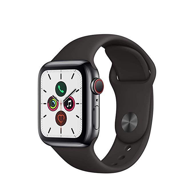 Apple Watch Series 5 (GPS + Cellular) 40mm Edelstahl
