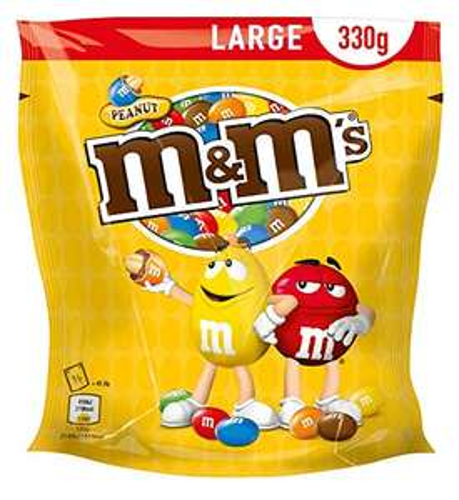 1,65kg M&M's Erdnuss
