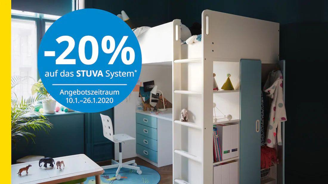 Ikea: -20% auf die Stuva Serie (Family & Business)