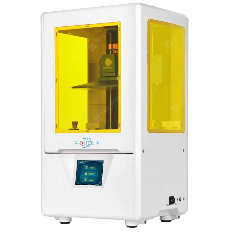 ANYCUBIC Photon-S 3D Drucker (50 W, harzbasierend, 11,5 x 6,5 x 16,5 cm)