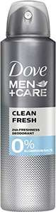 "6x Dove Men+Care ""Clean Fresh"" Deospray (ohne Aluminium)"
