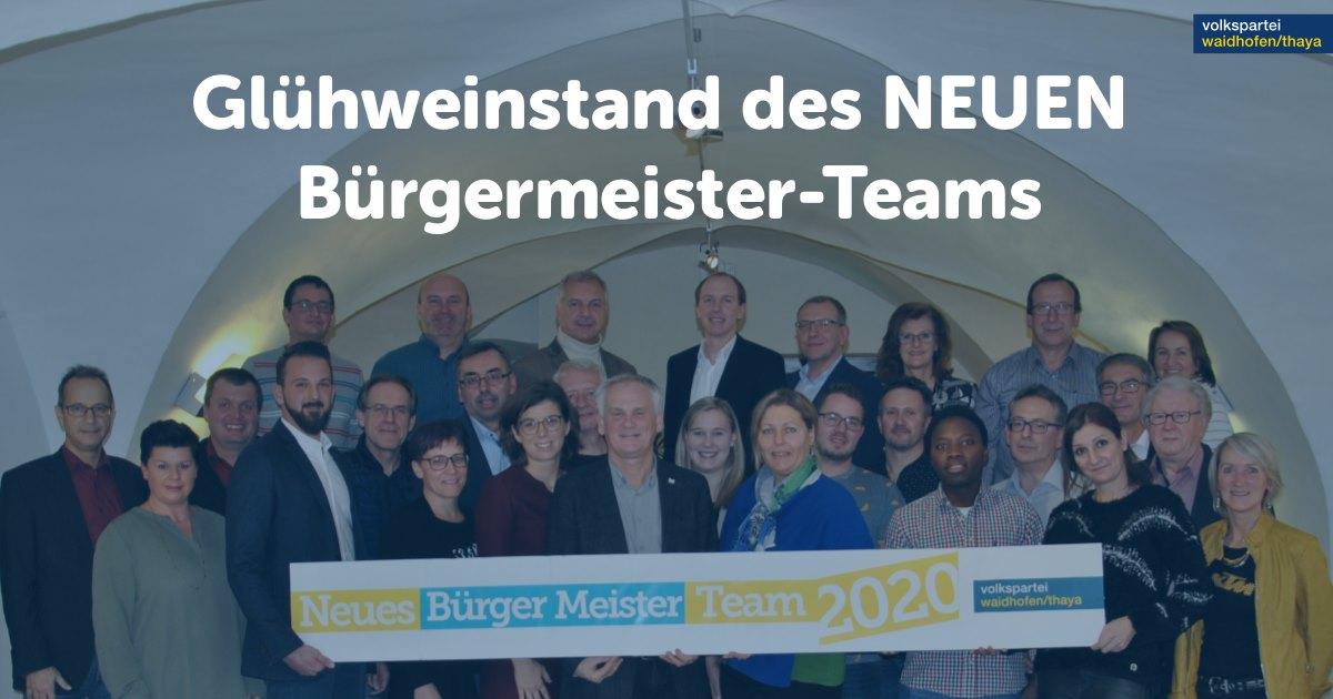 gratis Glühwein, Bier + Kesselwurst: 18.01.2020, bis 15 Uhr am Hauptplatz in 3830 Waidhofen/Thaya