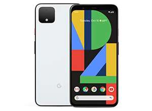 Google Pixel 4, 64GB, just black / clearly white