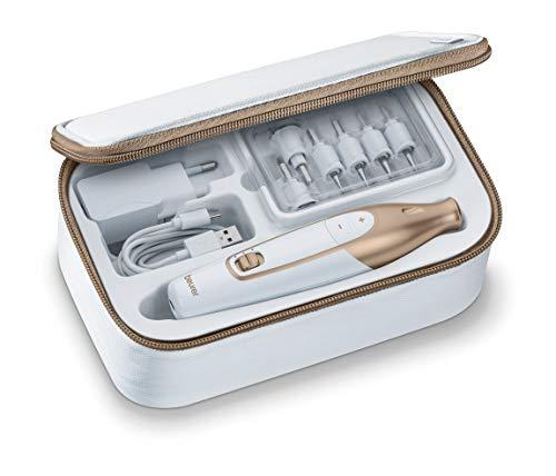 Beurer MP 64 Maniküre-/Pediküreset, elektrisches Nagelpflegeset mit Akku