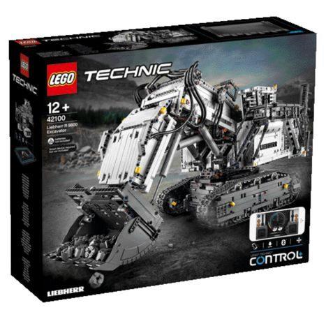 LEGO Technic Liebherr Bagger R 9800 42100 Teile: 4108
