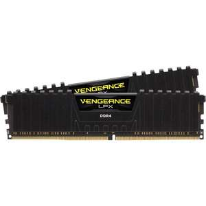 Corsair Vengeance LPX schwarz DIMM Kit 16GB, DDR4-3200, CL16-18-18-36 (CMK16GX4M2B3200C16)