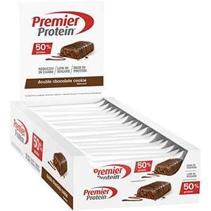 24x Premier Protein Protein Bar, Double Chocolate Cookie