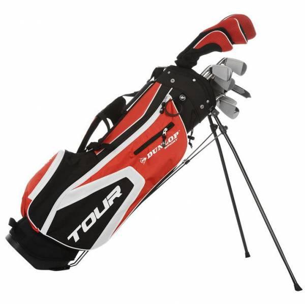 "(nobler Preisjäger) Dunlop ""Tour"" 16-teiliges Golfset (Graphit/Stahl, Rechtshand)"