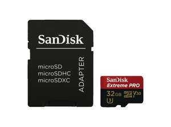 SanDisk Extreme PRO R100/W90 microSDHC 32GB Kit