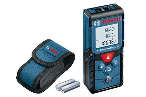 Bosch Professional GLM 40 Laser-Entfernungsmesser inkl. Tasche