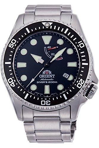 Orient Herren Automatik-Uhr mit Edelstahl Armband (RA-EL0001B00B)