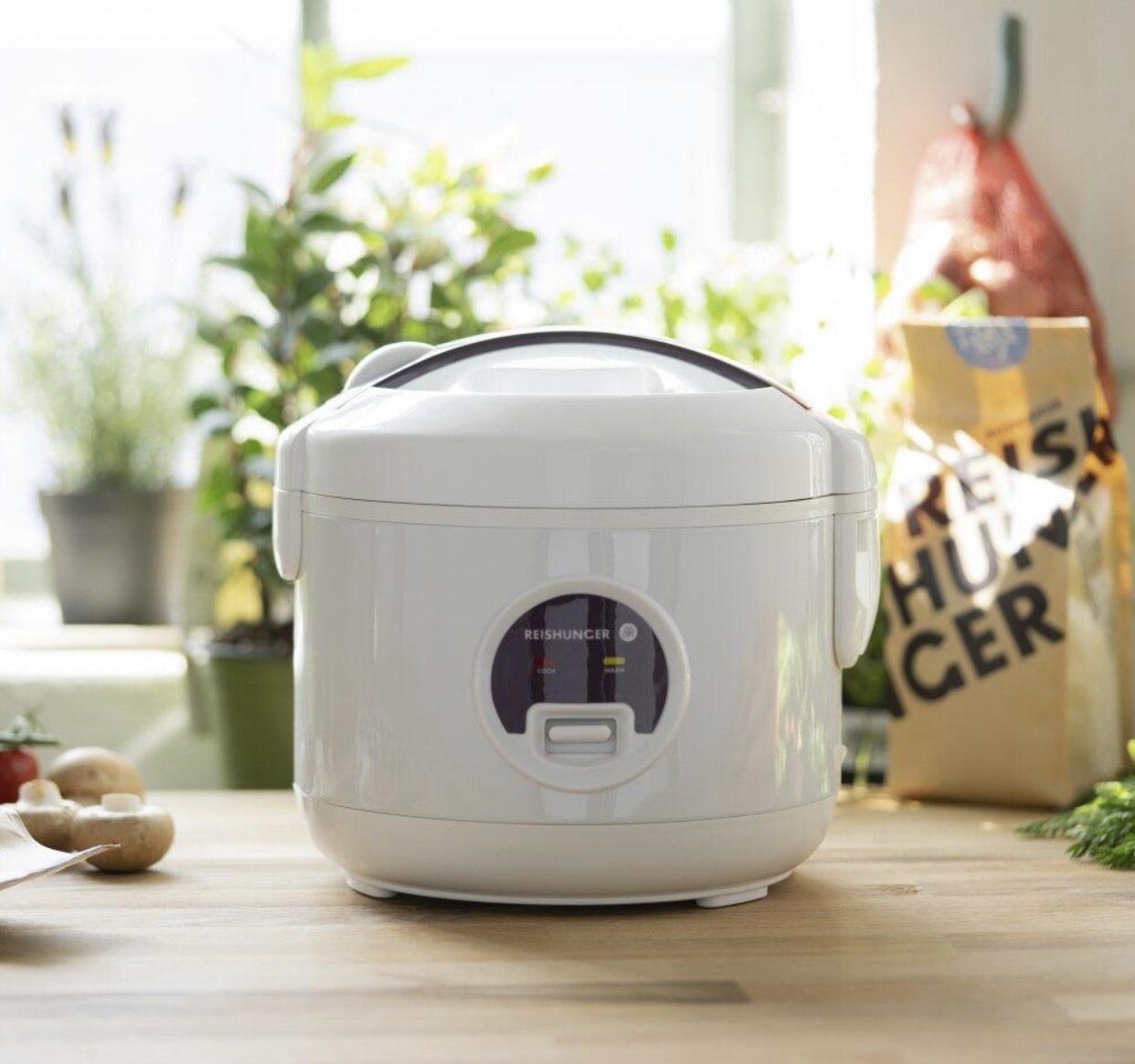 Reishunger Mini Reiskocher (0,6l) + kostensloses Geschenkset bei NL Anmeldung