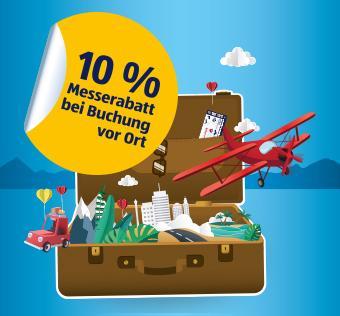 10% Rabatt bei Hofer Reisen bei Buchung auf der Ferienmesse.