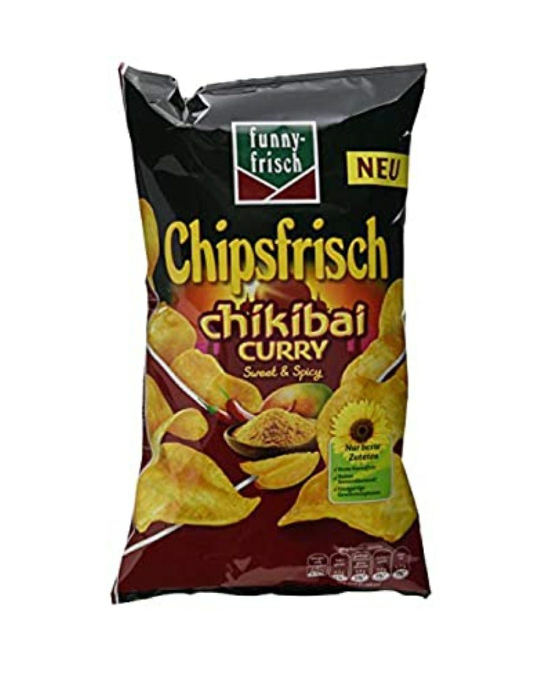 Chipsfrisch Chikibai Curry (10er Pack)