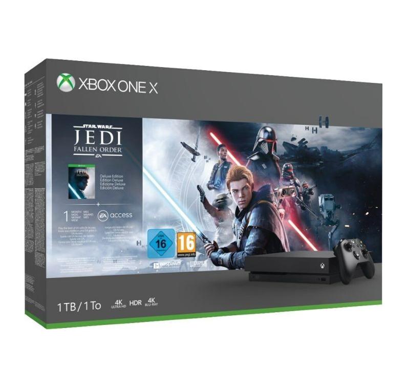Xbox One X 1TB Jedi Fallen Order Bundle