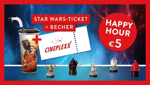 CINEPLEXX - STAR WARS Ticket + Becher