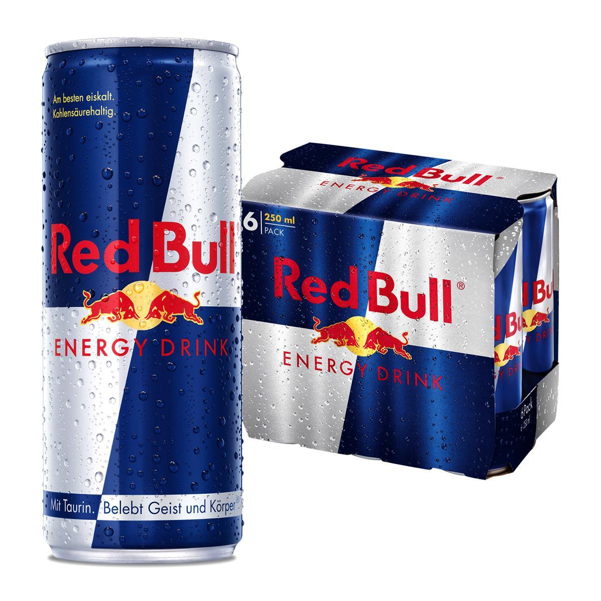 Red Bull diverse Sorten ab 6 Dosen