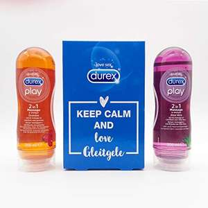 AMAZON.de l Geiler-Preisjäger l Durex play 2in1 Massage 1x Gleitgel Guarana 200ml + 1x Aleo Vera 200ml - have fun!