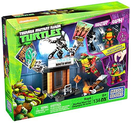 "Preisjäger Junior: Mattel Mega Bloks - TMNT, ""Dacheinsatz Raph"""