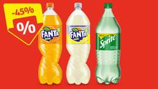 [Hofer] 1,5l Fanta/Fanta-Lemon/Sprite um 97 Cent, 0,5l Dose Puntigamer 59 Cent, Biogurke 79 Cent