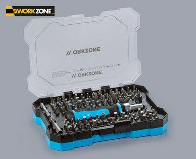 Workzone Bit-Set, 105 Teile [Hofer offline]