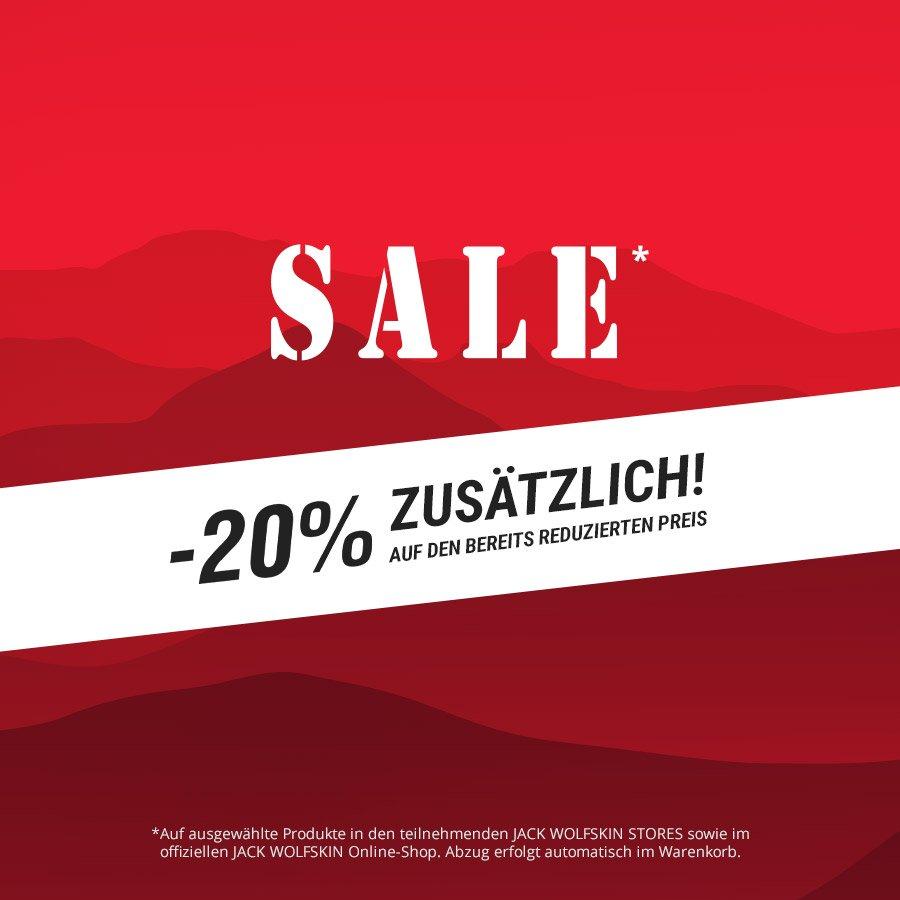 20% Zusatzrabatt auf alle 592 Sale Artikel