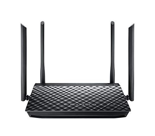 Asus RT-AC1200G Plus Router (WiFi 5 AC1200 MIMO, 4x Gigabit LAN, App Steuerung, DFS, Multifunktion USB 2.0, IPv6, VPN)