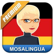 Deutsch lernen: MosaLingua Premium