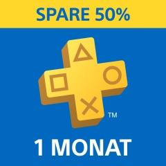PlayStation®Plus: Mitgliedschaft für 1 Monat