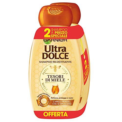 AMAZON.de l Shinzon´s Beauty-Palace l 6 Stück Garnier - Ultra süßes Shampoo 300 ml [3 X 2er-Pack] Mandelöl und Ahornsirup