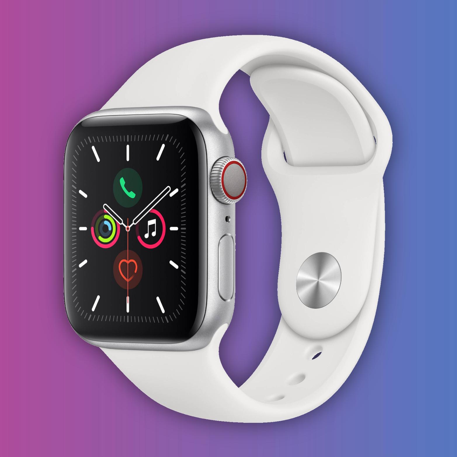 Apple Watch Series 4 (GPS + Cellular), 40mm, Aluminium