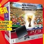 PS3 Slim 250 GB + FIFA WM 2010 um 298,80€ @Metro Österreich