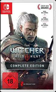 @Amazon The Witcher 3: Wild Hunt - Complete Edition für die Nintendo Switch um 42,85€