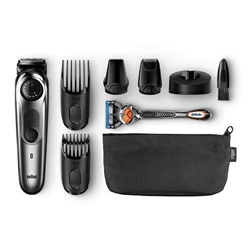 Braun Barttrimmer und Haarschneider + Gillette Rasierer