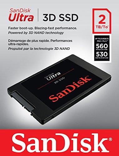 """SanDisk Ultra 3D 2TB """"Datengrabaustauschplatte"""""""
