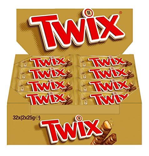 Wieder verfügbar Twix, 32 Riegel (32 x 50 g)