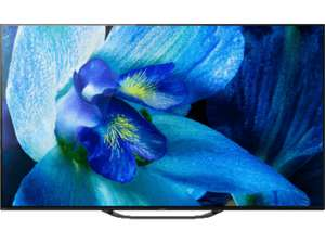 SONY Fernseher KD-65AG8 (2019) 65 Zoll 4K UHD Android Smart OLED TV