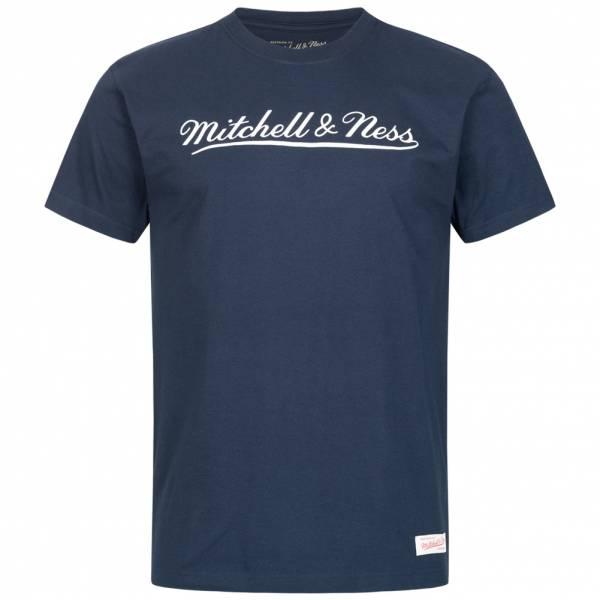 Mitchell & Ness Script Herren T-Shirt in vielen Farben und Größen