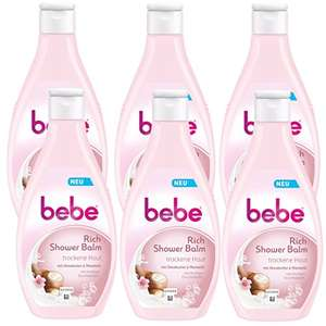 bebe Rich Shower Balm - Cremige Pflegedusche, 6x 250ml