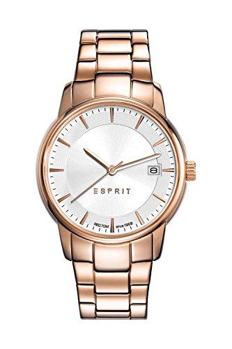 Esprit Damen-Armbanduhr Victoria Analog Quarz Edelstahl