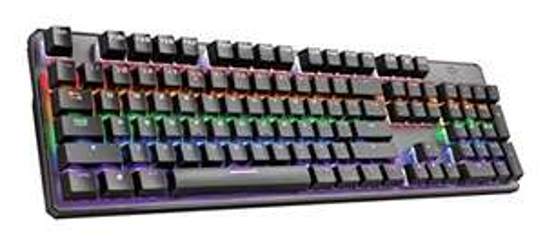 Trust GXT Mechanische Gaming Tastatur mit LED Beleuchtung