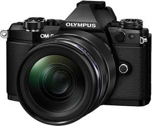 Olympus OM-D E-M5 Mark II Systemkamera Kit mit 12-40 mm