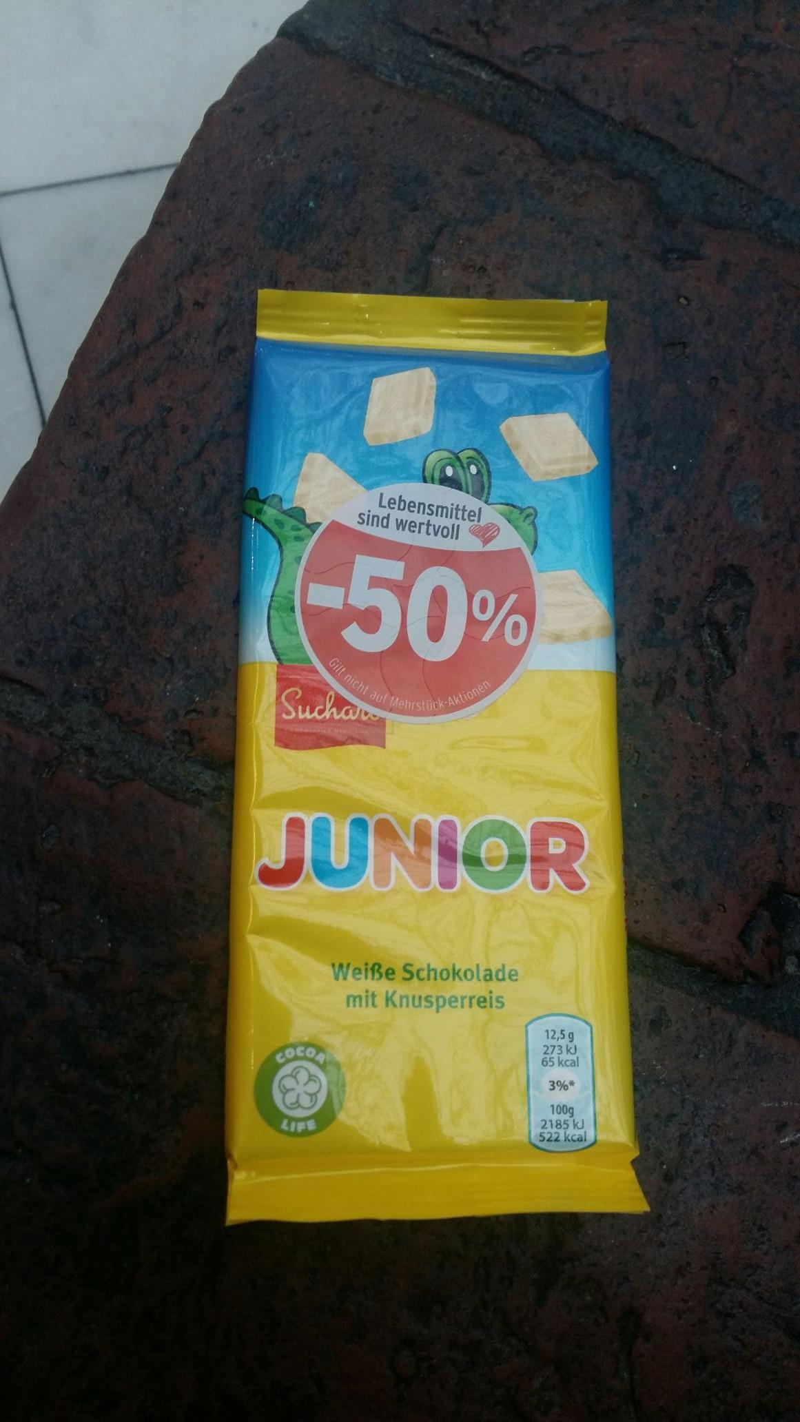 Regional Junior Schokolade