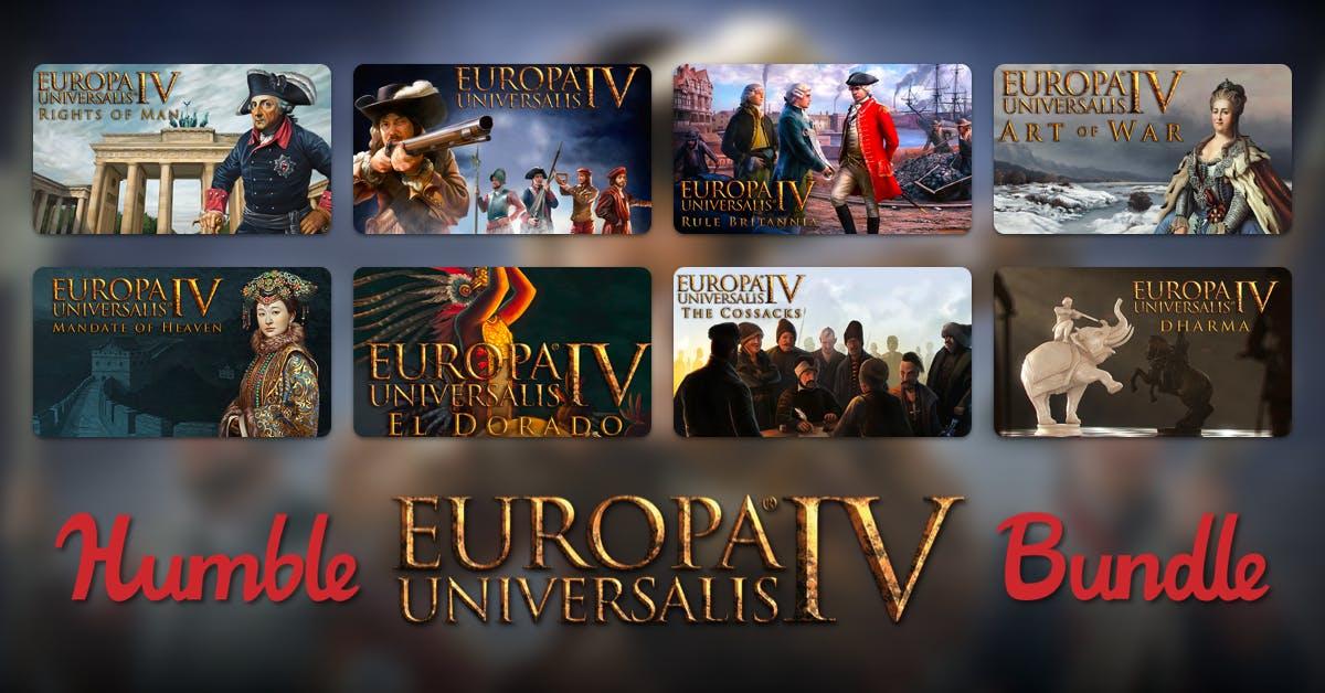 Europa Universalis 4 inkl. 6 DLCs für unter 1€