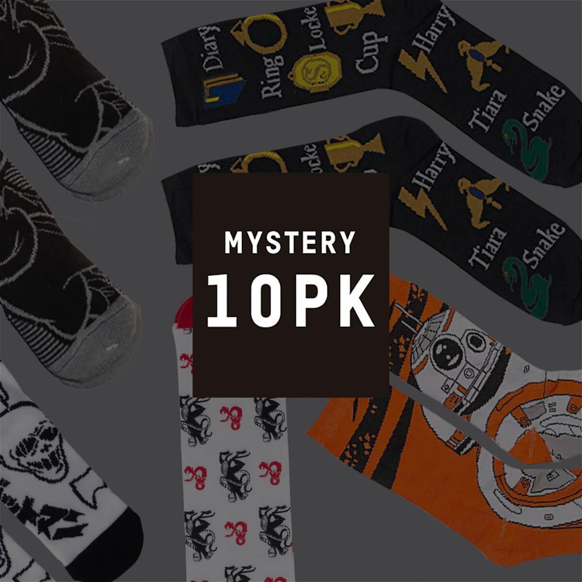 10 Paar Mystery Geek Socken