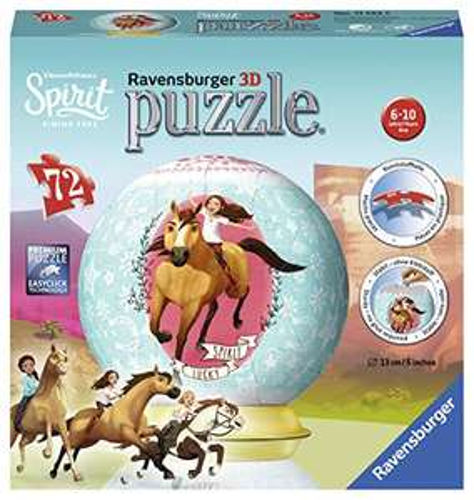 "Preisjäger Junior: Ravensburger 3D Puzzle-Ball ""Spirit""/ alternativ die 2D Puzzle Variante"