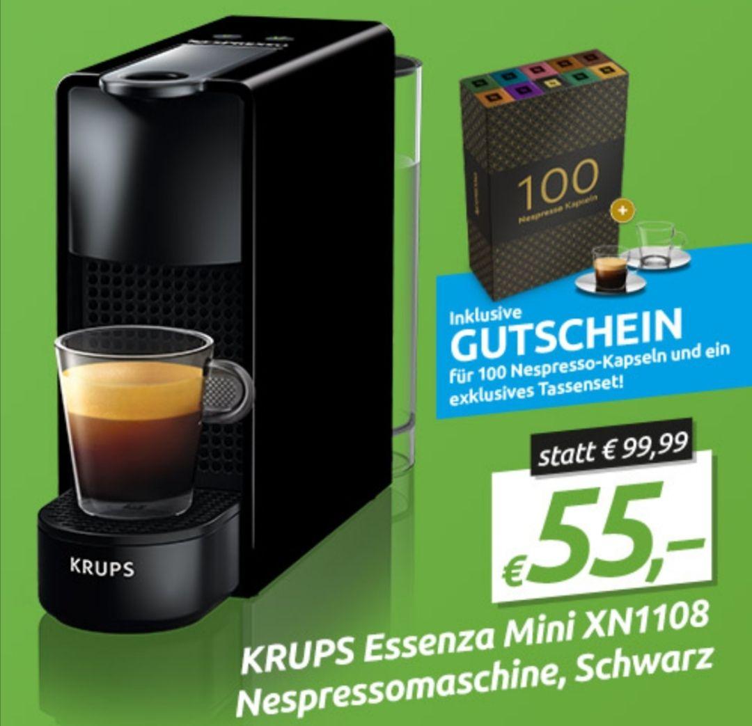Nespresso Essenza Mini inkl. Gutschein iWv 60,-
